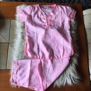 Pink kids set